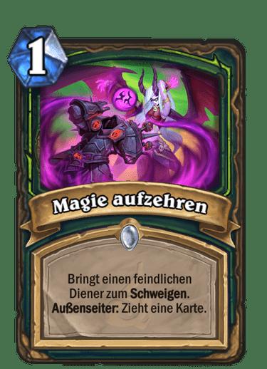 Magie aufzehren