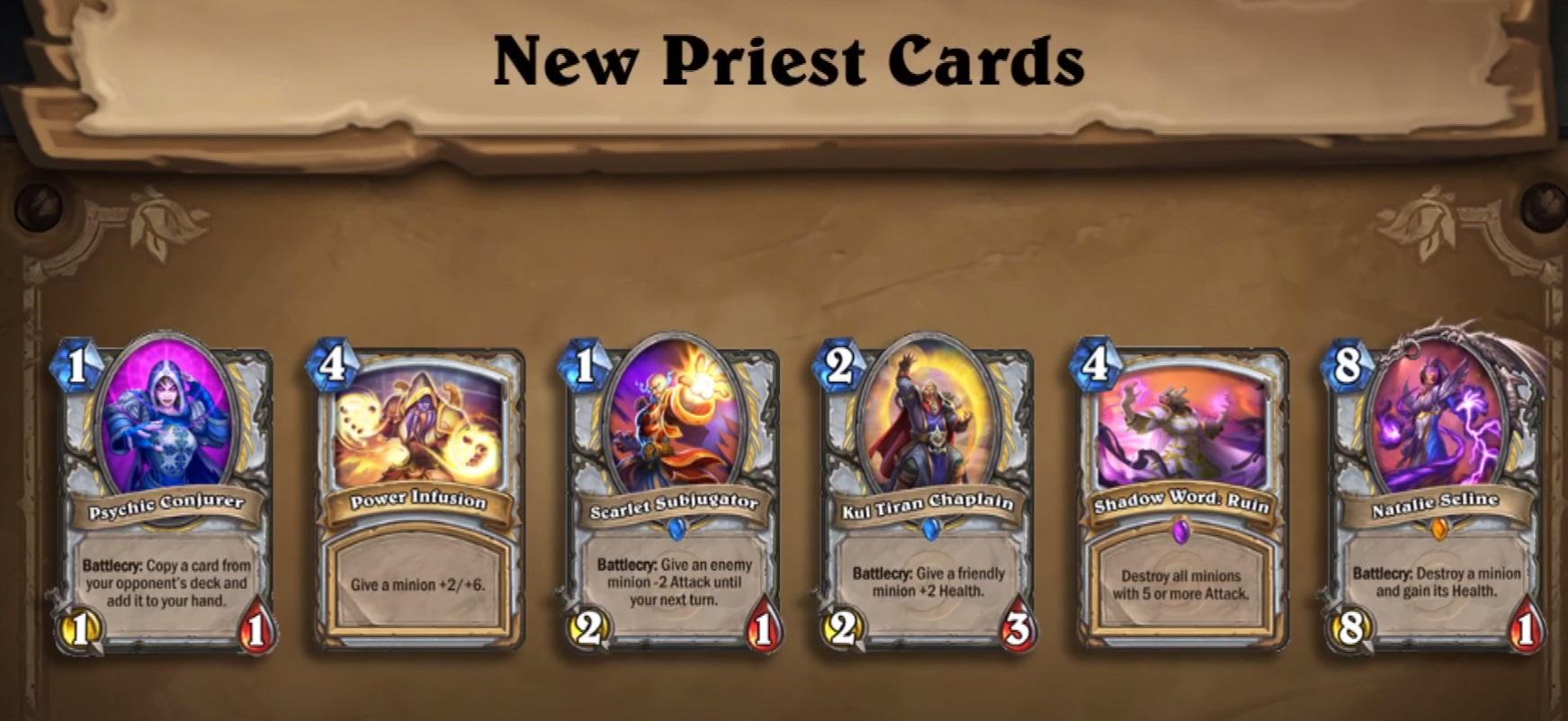 Neue Priester Karten