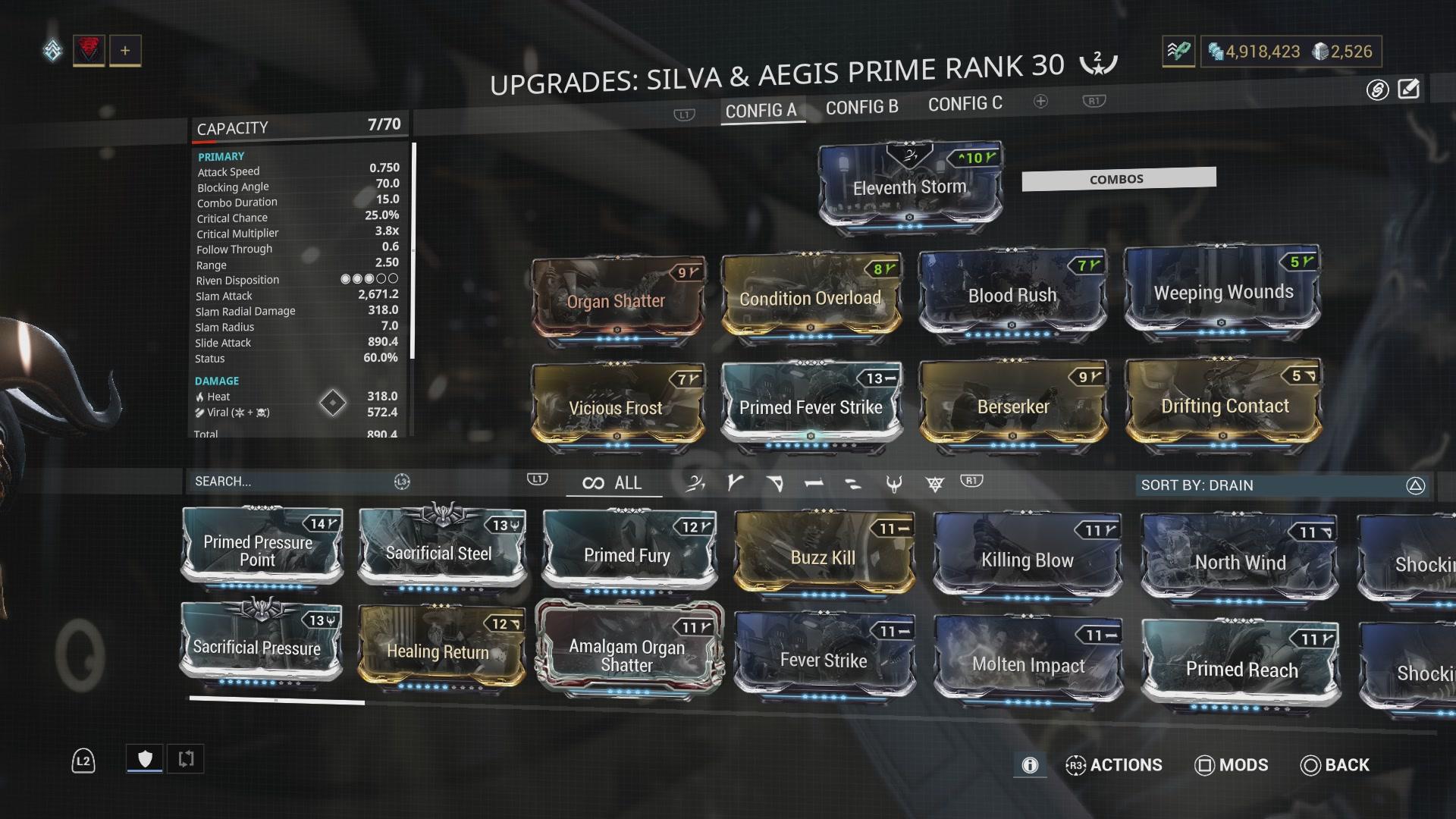 Warframe Oberon Prime Nekros Prime Vault