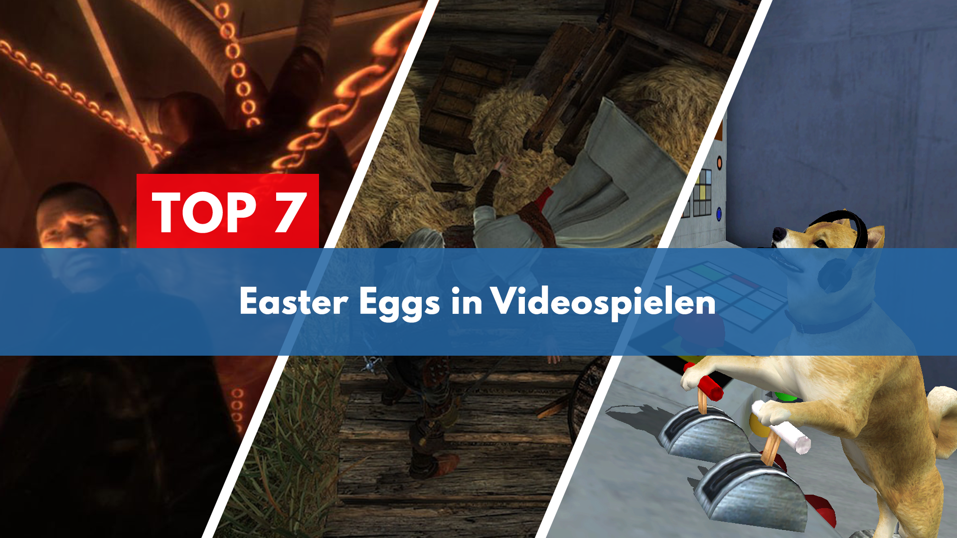 Top 7 Easter Eggs