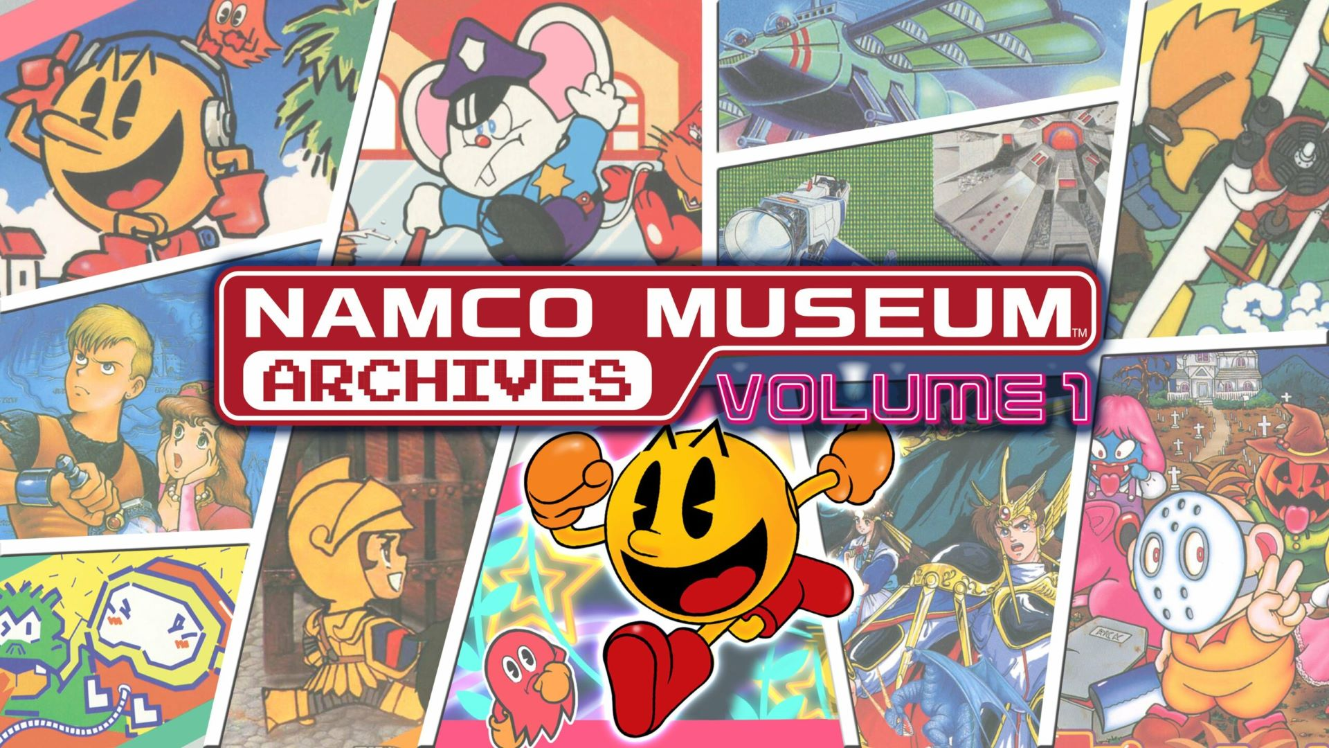 PCPS4SWITCHXBOX ONENamco Museum Archives: Volume 1