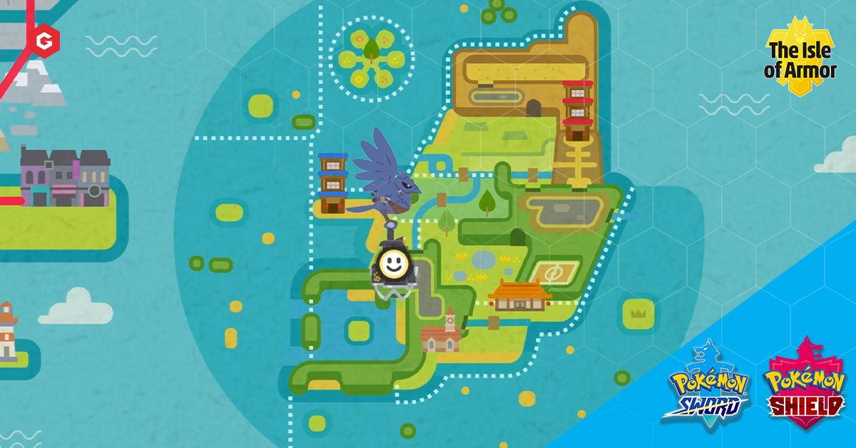 Weltkarte der Insel der Rüstungen