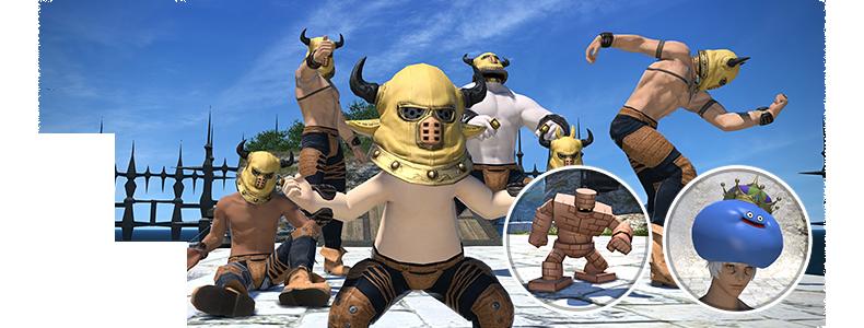 Final Fantasy XIV Kollabo-Event DRagon Quest X