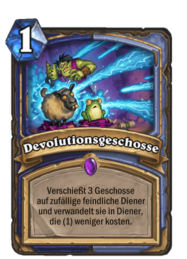 Devolutionsgeschosse