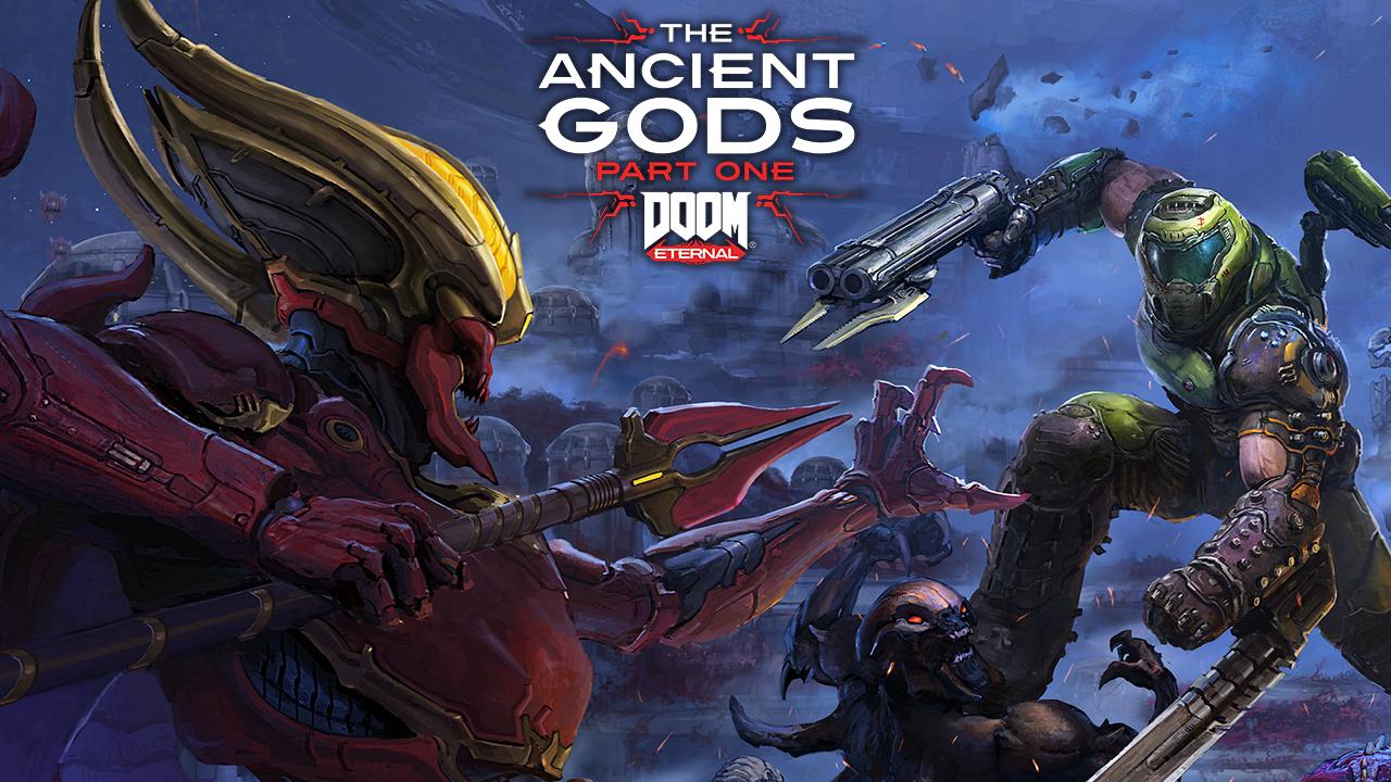 Doom Eternal The Ancient Gods Title