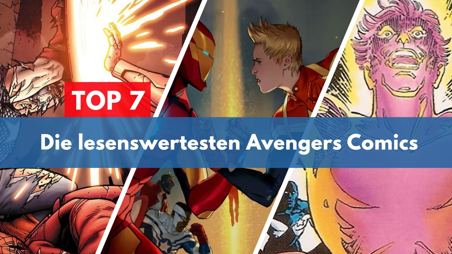 Top 7 Avengers Comics