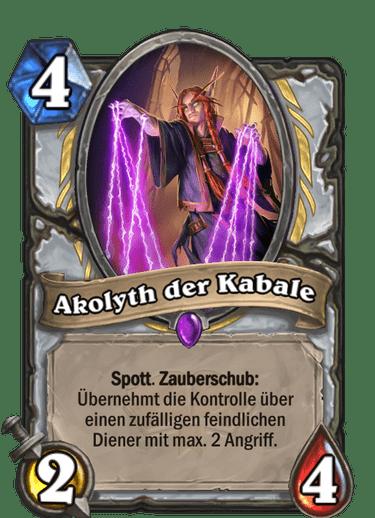 Akolyth der Kabale