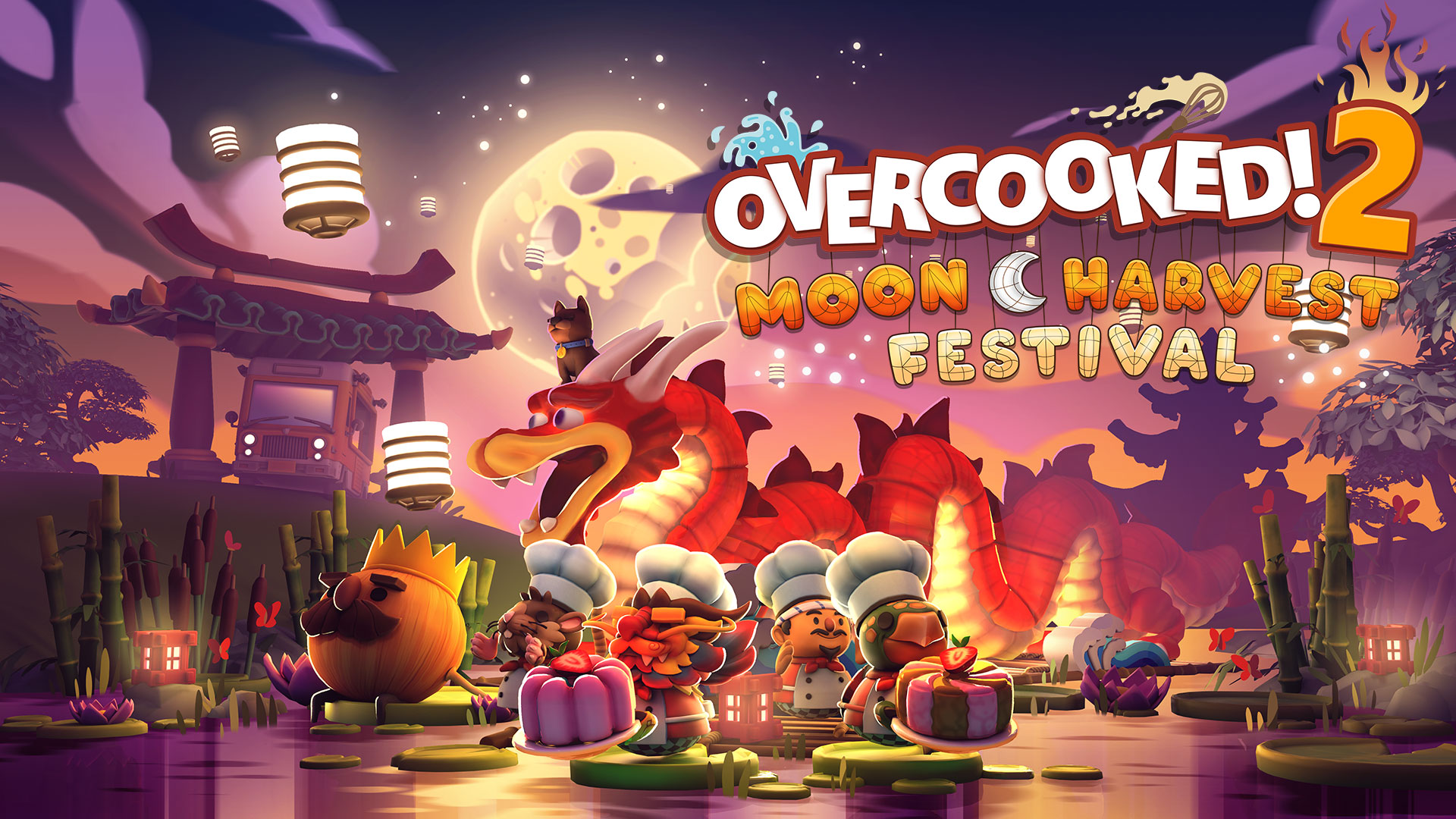 Overcooked 2 Moon Harvest Festival