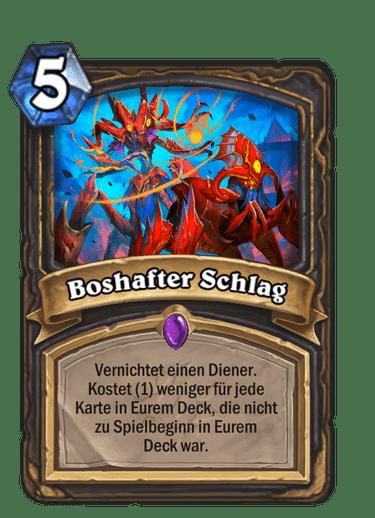 Boshafter-Schlag