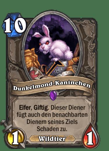 Hearthstone Dunkelmond-Kaninchen
