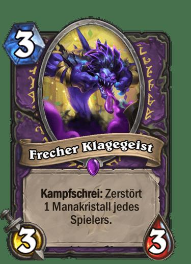 Hearthstone Frecher-Klagegeist