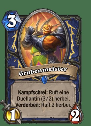 Hearthstone-Grubenmeister