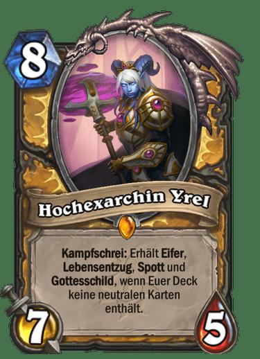 Hearthstone Hochexarchin-Yrel