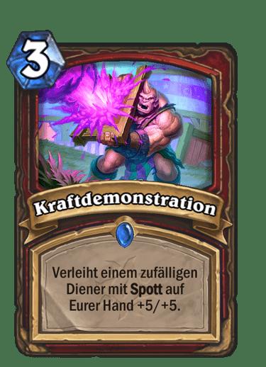 Hearthstone-Kraftdemonstration