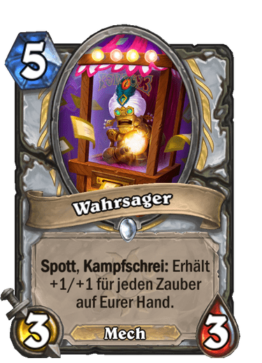 Hearthstone Wahrsager