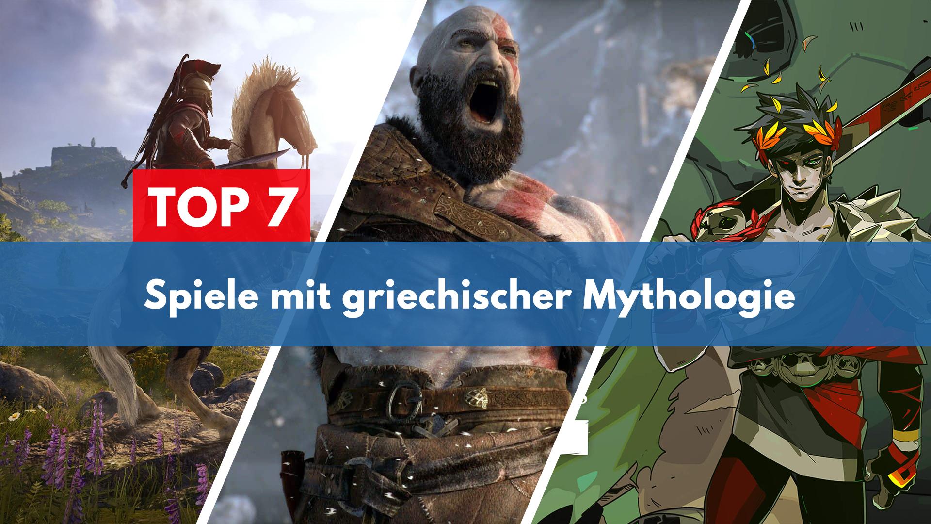 Top 7 Spiele mit griechischer Mythologie