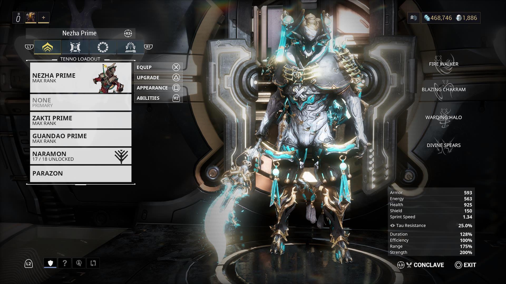 Warframe Nezha Prime Access