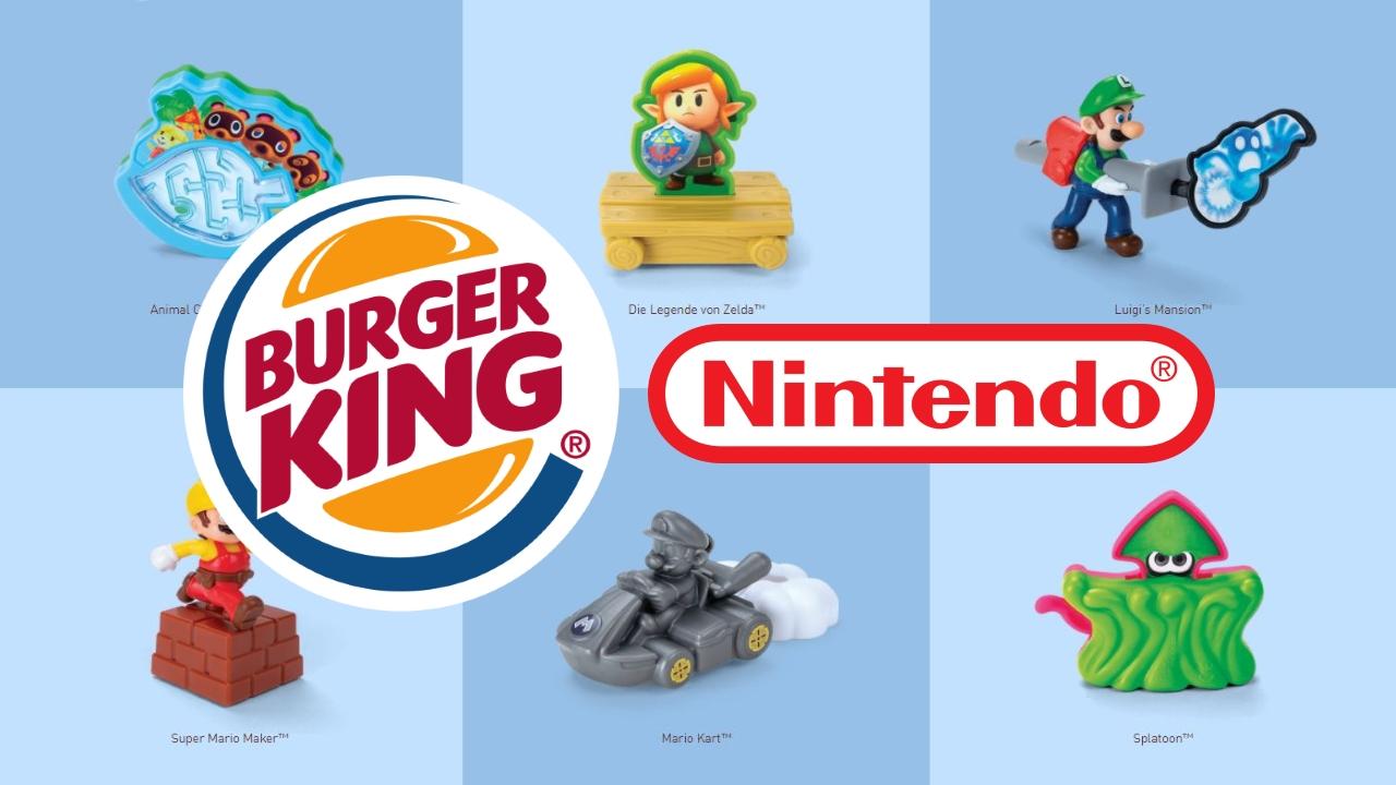 Burger King Nintendo Spielzeug Dezember 2020 NAT Games