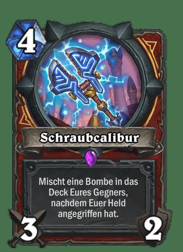 Hearhtstone Schraubkalibur