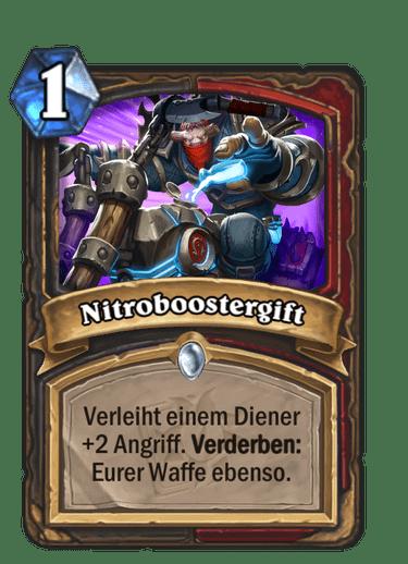 Hearthstone Nitroboostergift