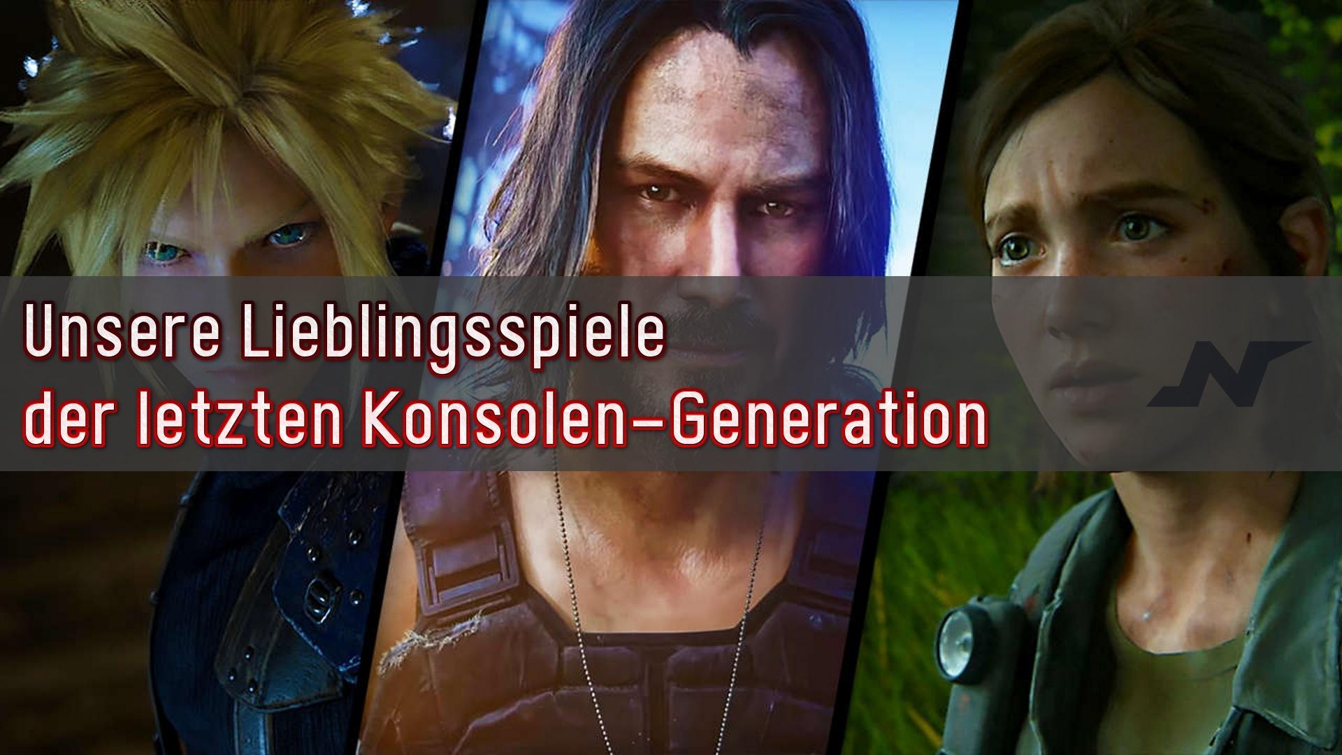 Lieblingsspiele der letzten Konsolen-Generation