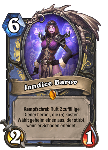 Hearthstone Jandice Barov