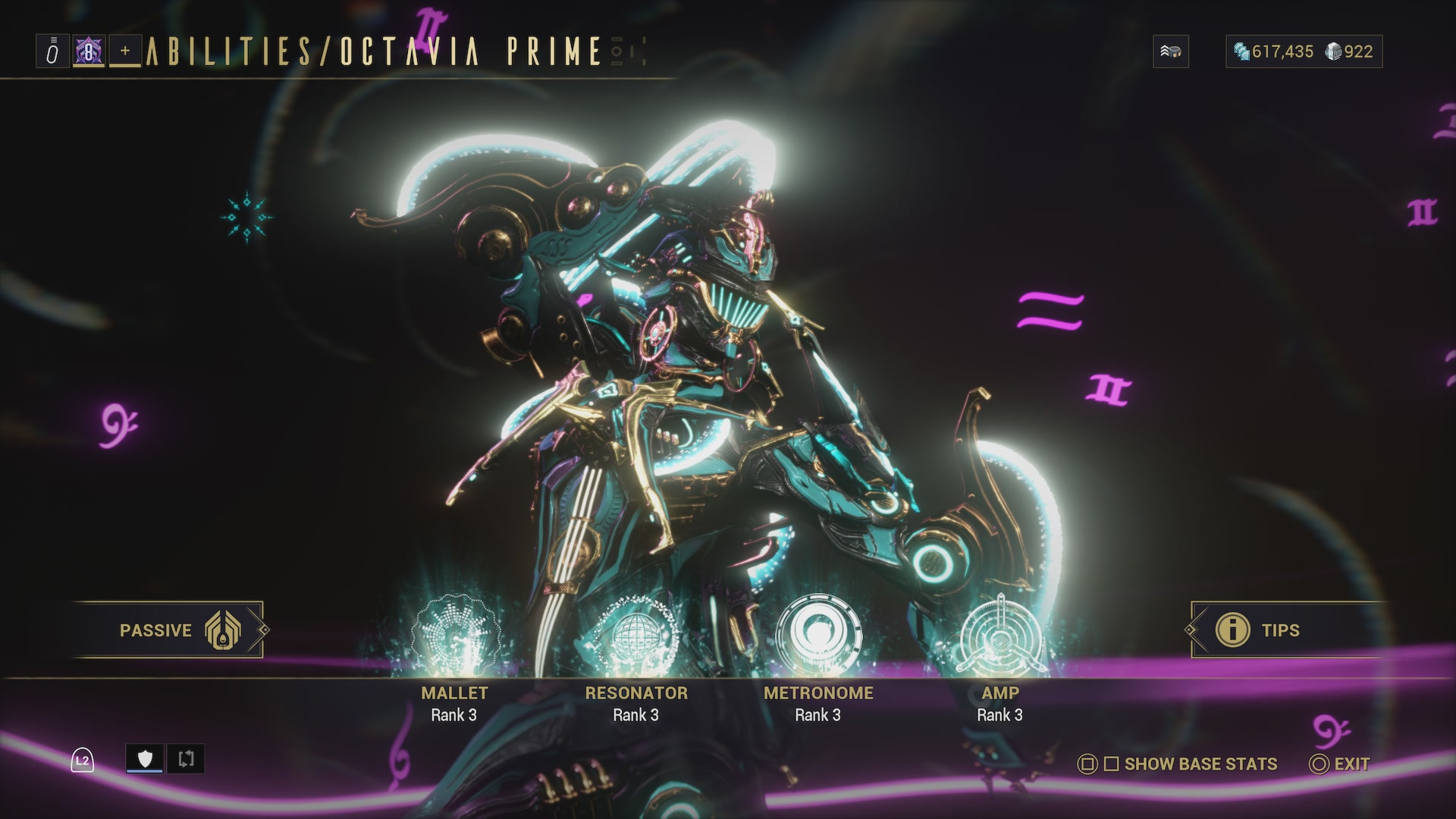 Warframe Octavia Prime Access