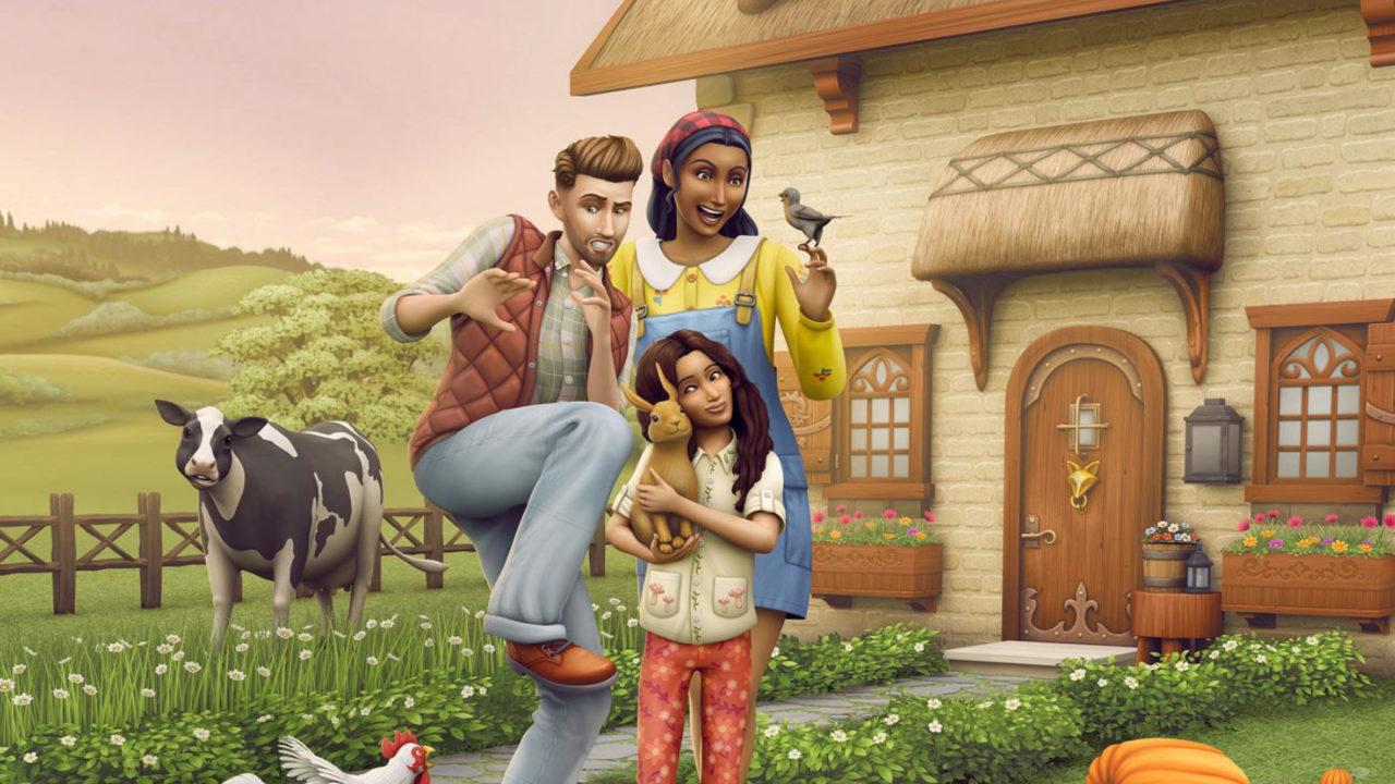 Die Sims 4 Landhaus-Leben