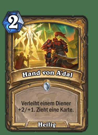 Hearthstone Hand von Adal