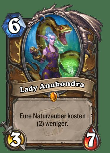 Hearthstone Lady Anakondra