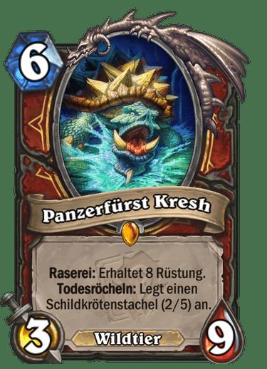Hearthstone Panzerfürst Kresh