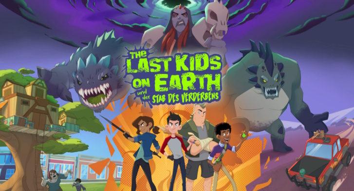 The Last Kids On Earth und der Stab des Verderbens