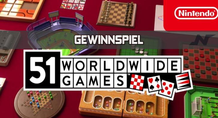 Gewinnspiel 51 Worldwide Games