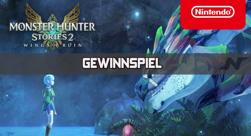 Gewinnspiel Monster Hunter Stories 2: Wings of Ruin