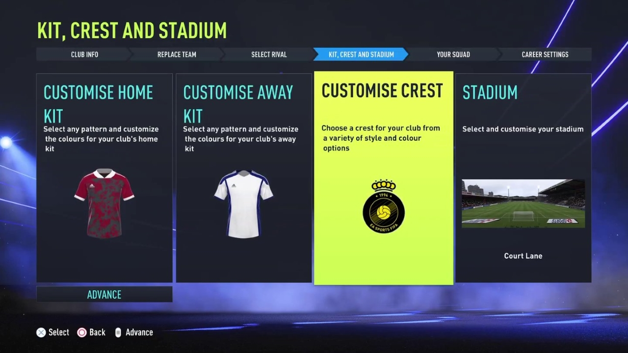 FIFA 22 Editor