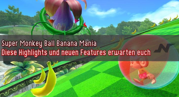Super Monkey Ball Banana Mania Special