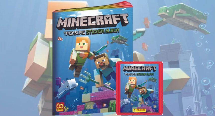 Minecraft Panini Stickerkollektion